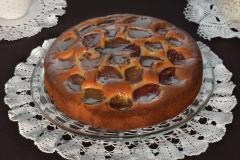 Ciasto z owocami na wagę - śliwka