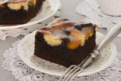 Sen Karaibów - ciasto o smaku kakaowym z budyniem, na wagę