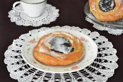 Ciastko półfrancuskie z makiem