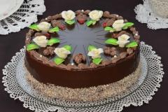 Tradycyjny tort czekoladowy