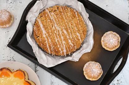 Cukiernia - ciasta, ciasteczka, babeczki, kołacze, strucle, rogaliki, torty